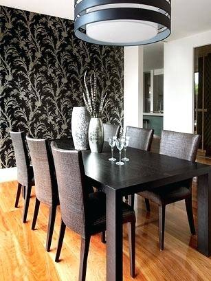 dining room wallpaper wallpaper black dining room set dining room wallpaper trends 2018