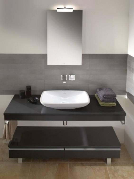 Awesome Designer Bathroom Vanity with Modern Mirrored Bathroom Vanity
