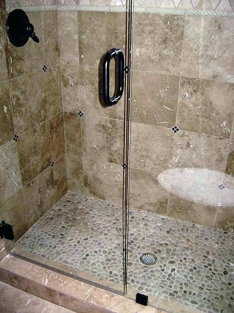river rock bathroom ideas how to use river rock tile in bathroom design great ideas river