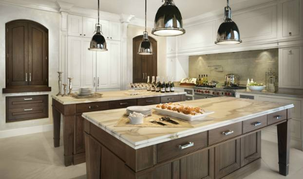 Kitchens With White Cabinets And Gray Countertops Houzz Large Transitional Kitchen Ideas Kitchen Large Transitional U Shaped Dark Wood Floor And White