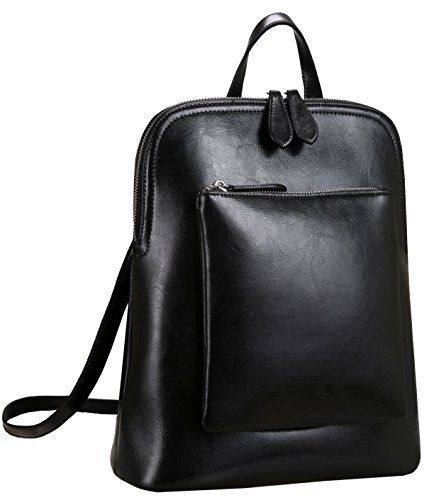 COTTON Men's Women's Vintage Canvas Leather Cotton Bag Rucksack Mountaineering Book Backpack School Casual Backpacks