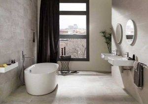 nice textured wall tiles for a guest bathroom porcelanosa tile ideas