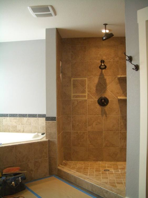 Fashionable Walk In Showers With Seat Tile Walk In Shower Custom Shower Design Ideas Design Ideas Tile Walk Showers Small Walk In Walk In Showers For Small