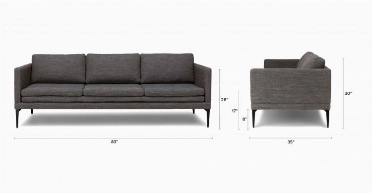 outside living room furniture download rendering living room with sofa near winter scene outside window stock