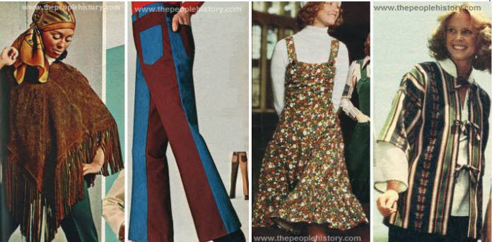 Fashion Trends Of '70s