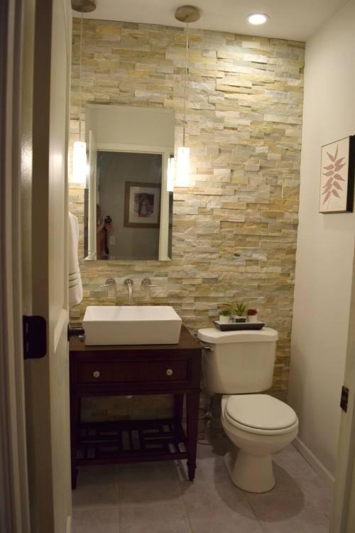 Half bath decor, Half bathroom remodel and Half bath remodel