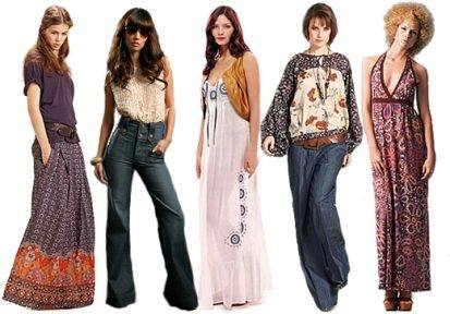 The '70s was a revolutionary time, especially for fashion