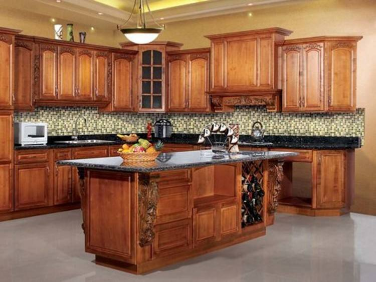 They come in a variety of types, such as maple, oak, hickory, cherry and pine,