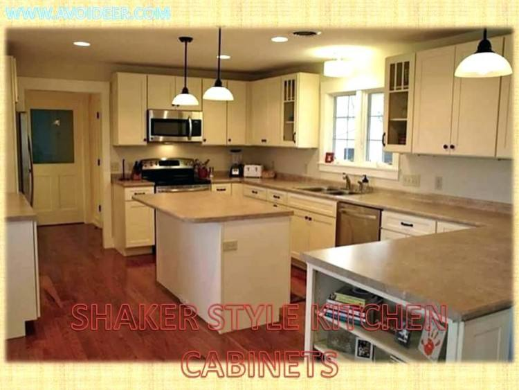 different styles of kitchen cabinets