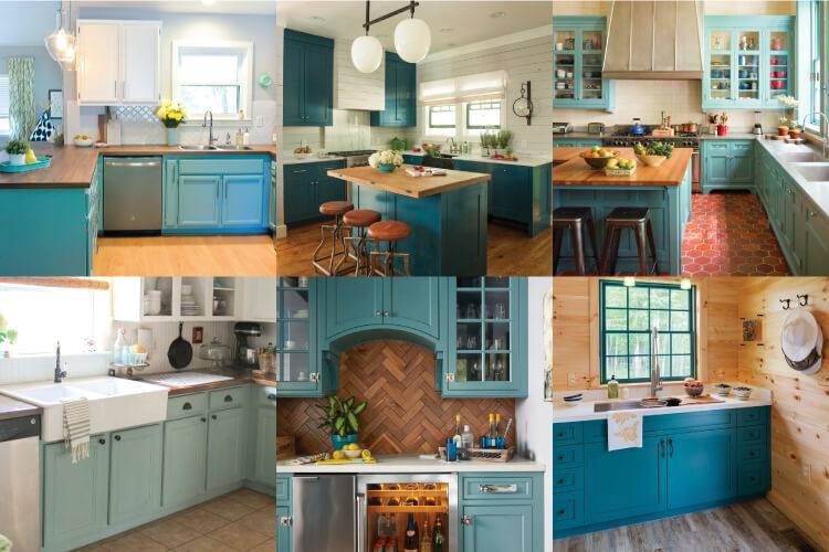 amazing painted kitchen cabinets