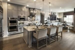 2018 Kitchen cabinet design trends in a room scene