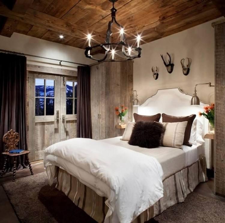 rustic bedroom decorating idea 35
