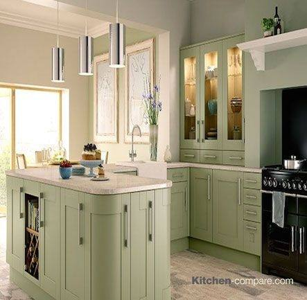 Gray Shaker Cabinets White Quartz Counter Tops White Marble Subway Tile And A Farmhouse Sink Are Sure To Outlast Moods And T Kitchen Ideas White Kitchen