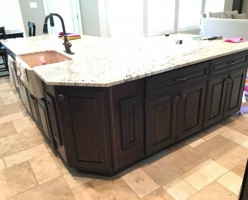 Modern kitchen cabinets in Houston,