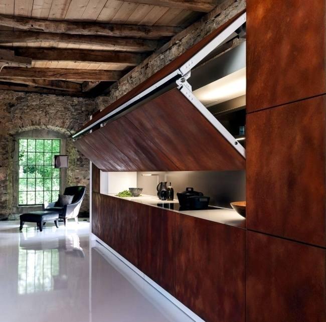 Simple Kitchen Appliance Cabinets Style Cabinet Garage Storage