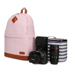 Classic Fashion Women'S Backpack Bag School Bag Handbags Shoulder Purse Top Quality Female Backpacks Black Backpack Camera Backpack From Flourishing996,