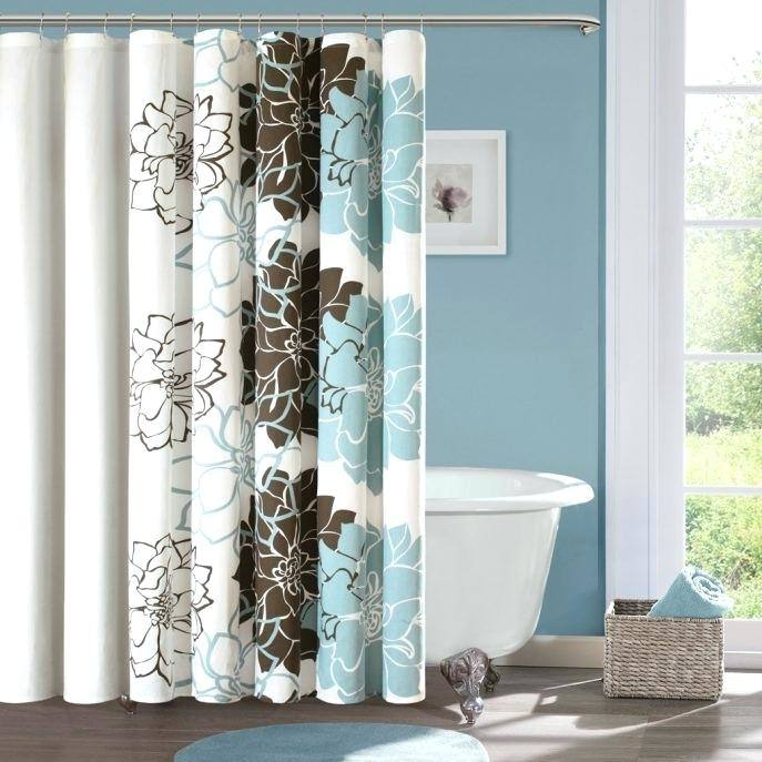 [Bathroom Accessories] Classic Bathroom Small Shower Curtain