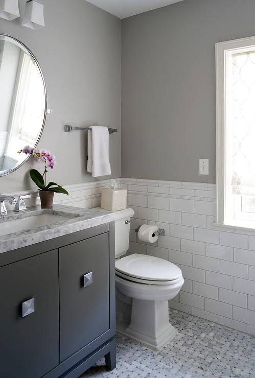 Bathroom Collection : Gray Tile Bathroom What Color Walls Gray And White Small Bathroom Ideas Best Bathroom Paint Colors 2017 Grey Bathroom Paint Ideas Grey