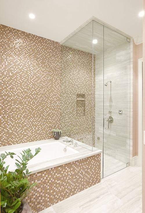 and essential fixtures to employing a few clever visual tricks, you can use some or all of these tips to make your bathroom appear twice as large