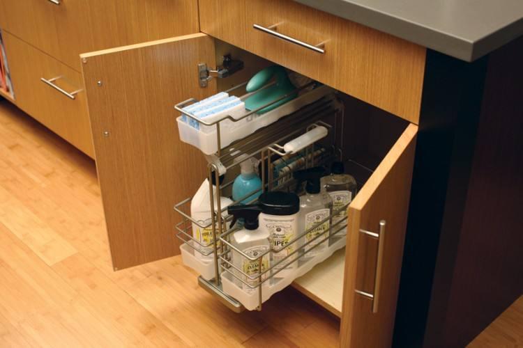 trash can under sink best under sink bin ideas on storage under under sink trash can