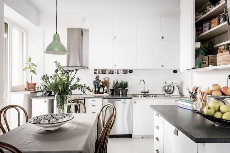 Modern Vintage Interior Design In Swedish Apartment Attractive Vintage Interior Design