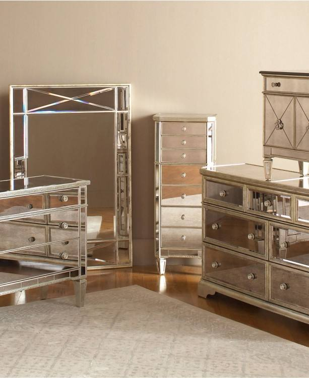 Mirrored Furniture · Mirrored Dresser · Mirrored Bedroom