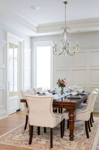 11 Ideas Dining Room Moulding Ideas You'll