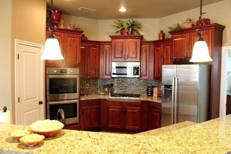 Knotty Alder Kitchen Cabinets Doors Natural Distressed