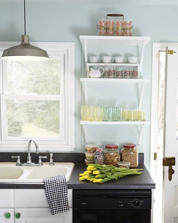 Good Turquoise Kitchen Cabinets Home Design Ideas Decorate