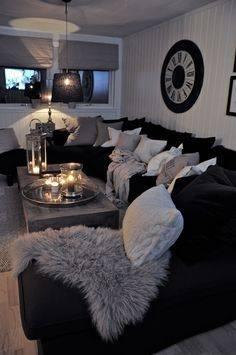 white room decor apartment showcase white lights bedroom
