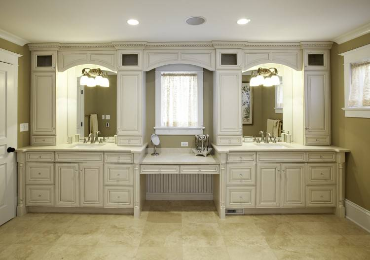 Image of a room featuring Villa Bath cabinets