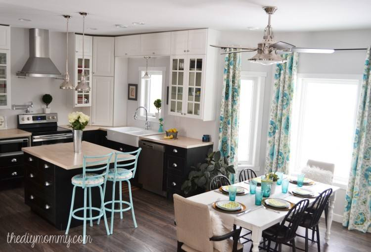 turquoise kitchen decor ideas