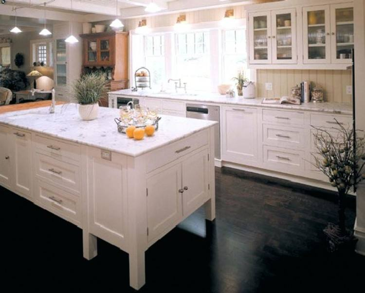 Engaging Design Of Rustic Kitchen Ideas Rectangle Shape Island With Marble Top Double Bowls Farmhouse Sink