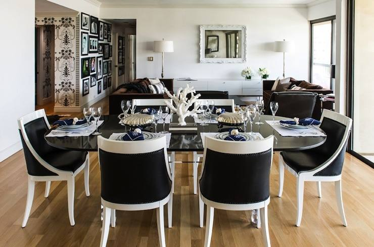 Dining Room Designs: Dining Room Decorating Ideas Black Table