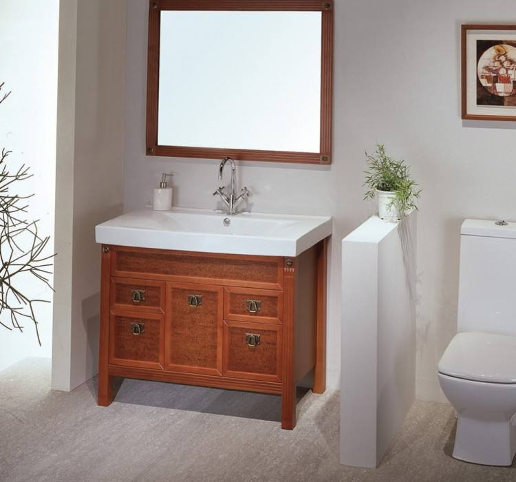 Cheap Bathroom Remodel Ideas Rectangular White Standing Sinks