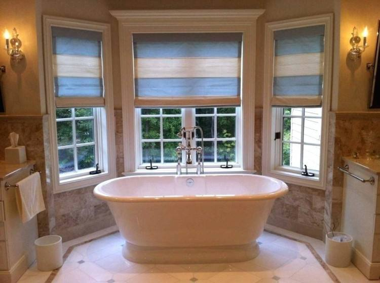 bathroom window valance ideas