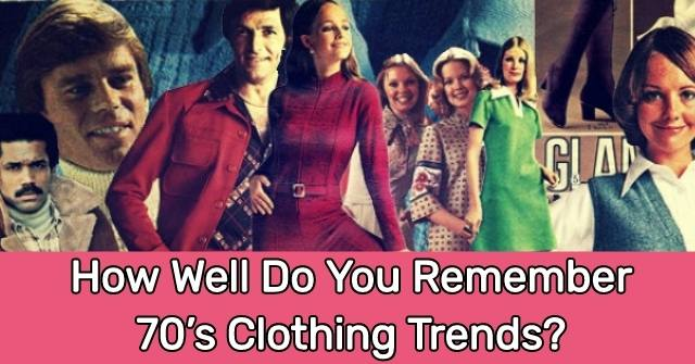 70s Fashion Trends
