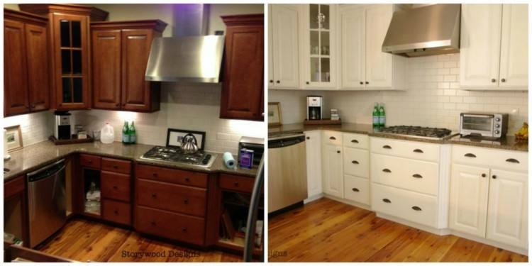 If you want to give your kitchen a makeover or modernise a dated kitchen, painting kitchen cabinets is an affordable and easy way to revamp without going to