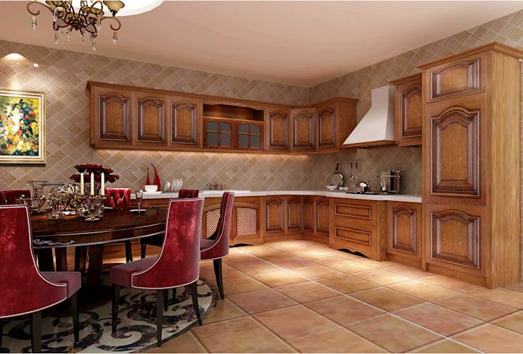 Photo of premium kitchen cabinets