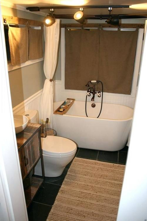 See ideas and  recommendations for toilets, hot water, and ventilation
