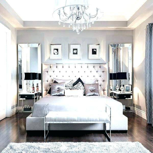 Neutral grays and beige hues offer a restful