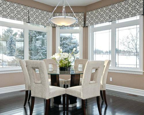 valances for dining room windows valances for