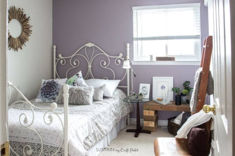 All about bedroom, Silver And Mauve Bedroom: purple and black bedroom ideas Medium
