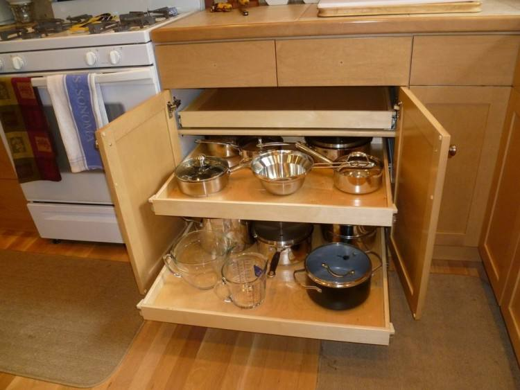 Full Size of Kitchen Unfinished Oak Kitchen Cabinets Kitchen Cabinet Storage Shelves Pull Out Racks For