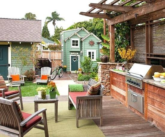 patio outdoor living ideas for small backyards