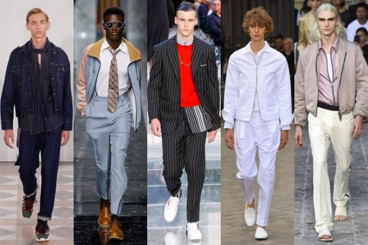 Men's travel style has come a long way