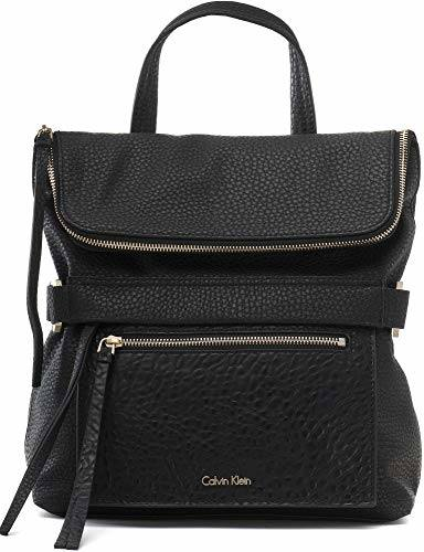 Calvin Klein Women's CKP Distressed Backpack Navy Backpack