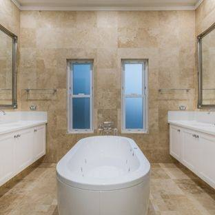 full bathroom ideas traditional full bathroom with frameless shower doors by dulles glass and mirror st