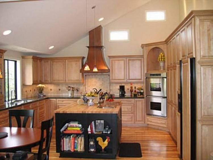 Vaulted Ceiling Kitchen Ideas | Home decor | Vaulted ceiling kitchen, Kitchen, Kitchen Cabinets