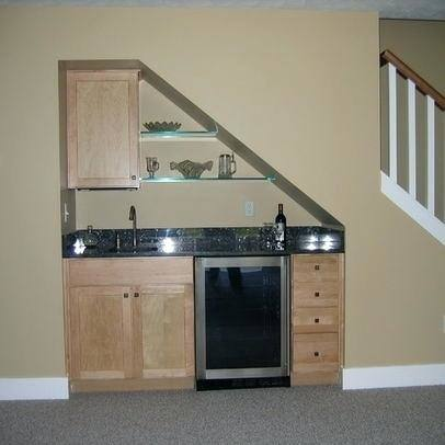 enchanting kitchen design with basement stairs must see bar under pins the home designs stair